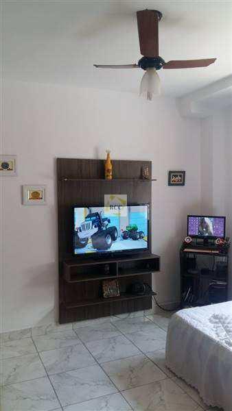 Apartamento com 1 dorm, Guilhermina, Praia Grande - R$ 150 mil, Cod: RCR46