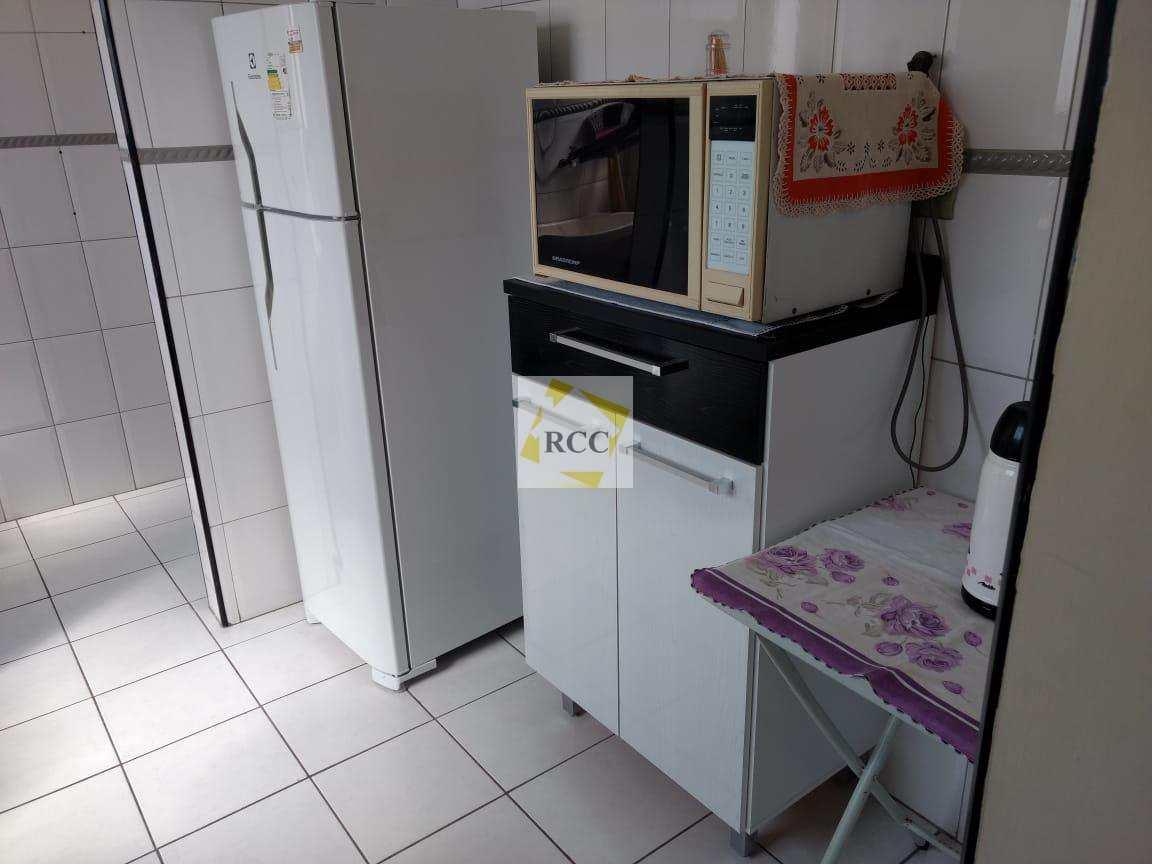Apartamento com 1 dorm, Guilhermina, Praia Grande, Cod: RCC76