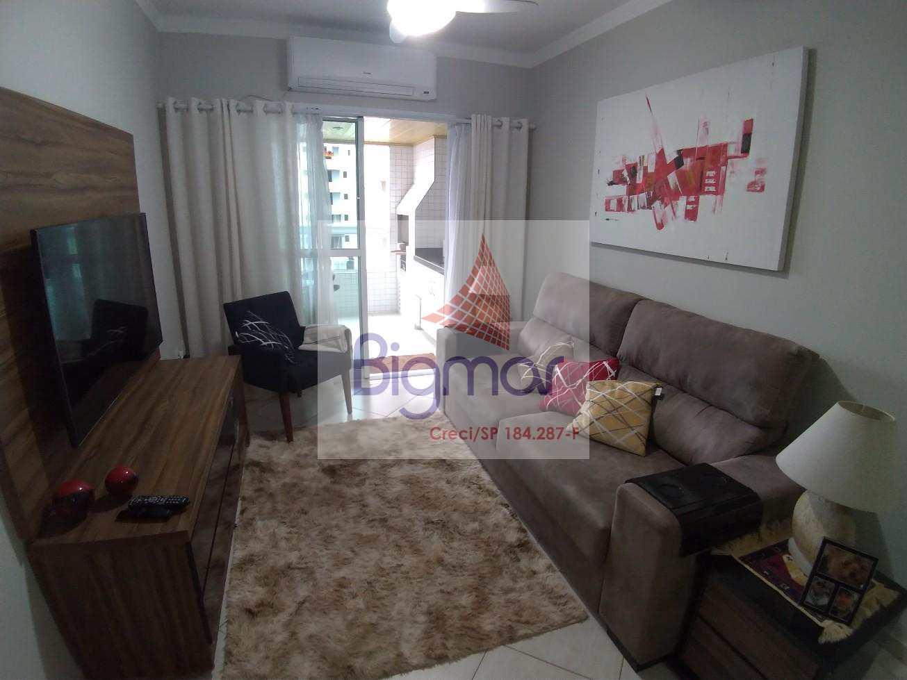 Apartamento com 2 dorms, Aviação, Praia Grande - R$ 375.000,00, 95m² - Codigo: 423