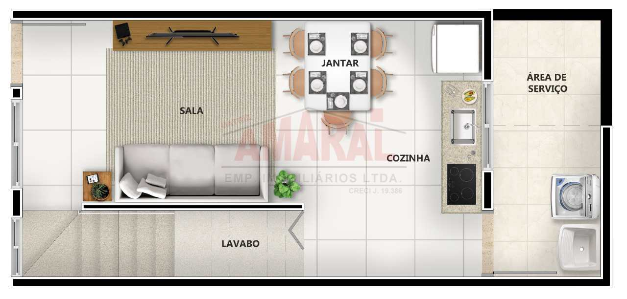 Sobrado de Condomínio com 2 dorms, Cidade São Mateus, São Paulo - R$ 255 mil, Cod: 11415