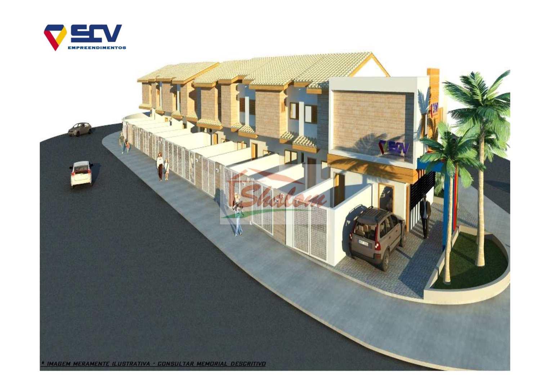 Casa de Condomínio com 2 dorms, Pontal de Santa Marina, Caraguatatuba - R$ 233 mil, Cod: 1308