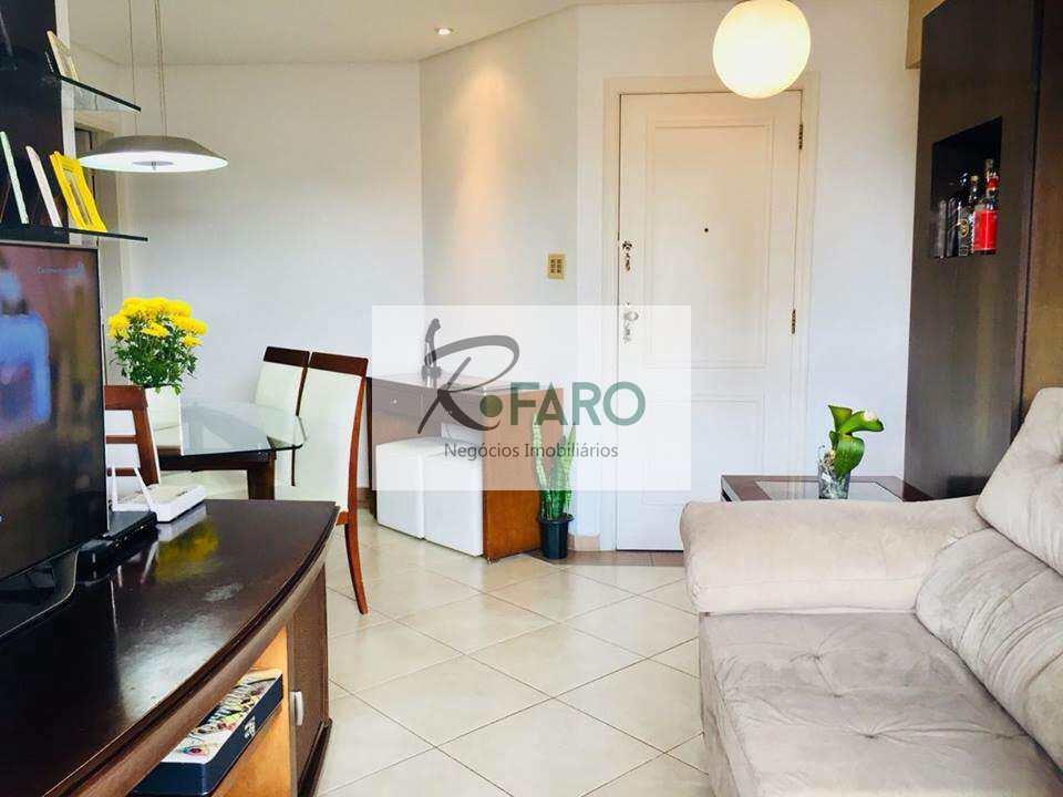 Apartamento com 3 dorms, Gonzaga, Santos - R$ 530 mil, Cod: 135