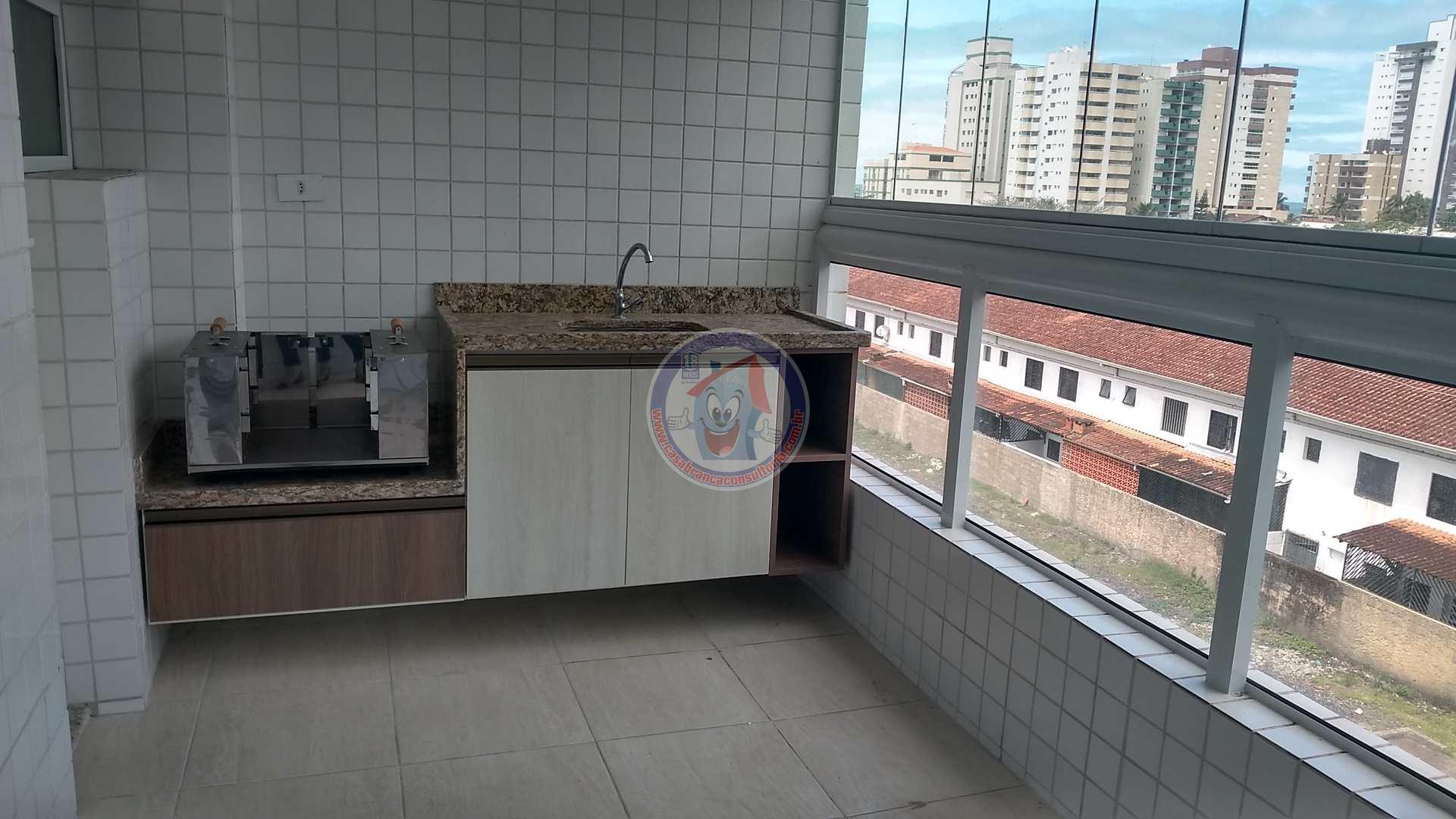 Apartamento com 2 dorms, Vila São Paulo, Mongaguá - R$ 300 mil, Cod: 1312-Premium