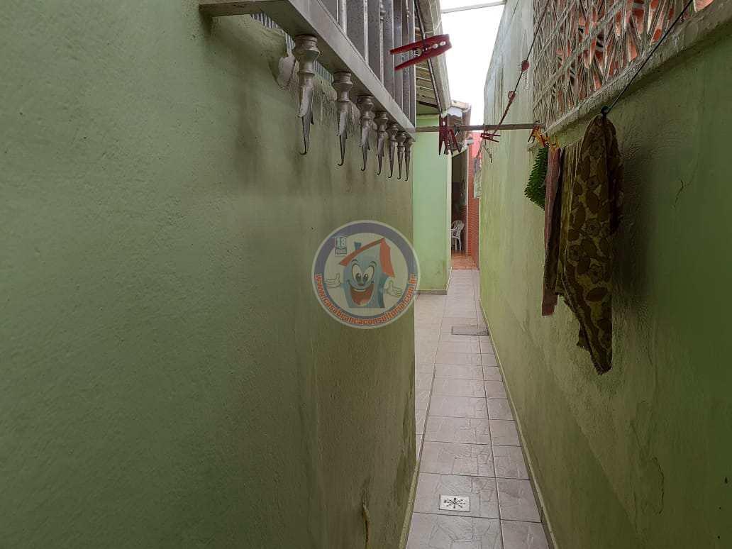 Casa com 2 dorms, Solemar, Praia Grande - R$ 320 mil, Cod: 1299-Premium
