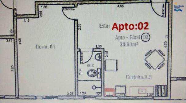 Apartamento com 1 dorm, Perequê Açu, Ubatuba - R$ 160.000,00, 0m² - Codigo: AP1277