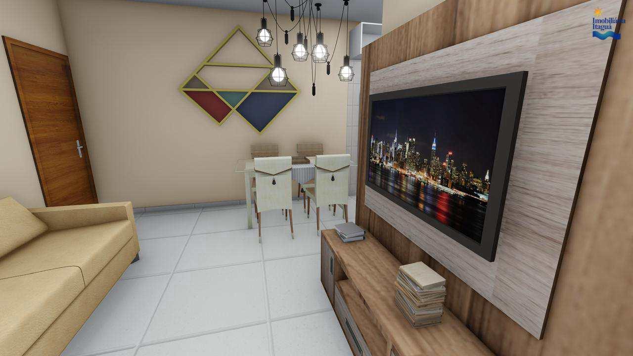 Em construção, apartamentos 2 dorms, Perequê Açu