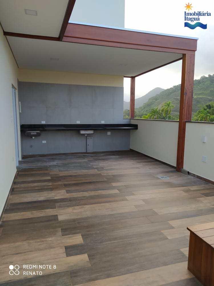 Cobertura com 3 dorms, Centro, Ubatuba - R$ 750 mil, Cod: ap1550