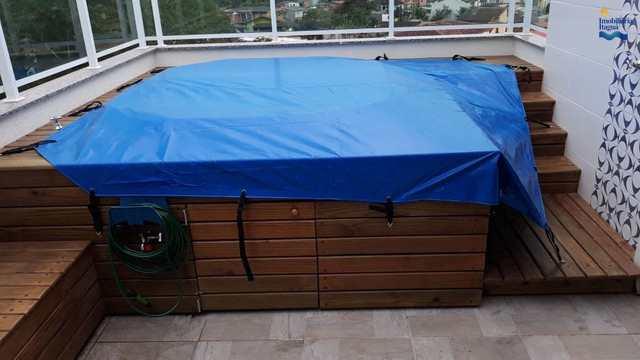 Cobertura com 2 dorms, Estufa I, Ubatuba - R$ 590 mil, Cod: ap1561