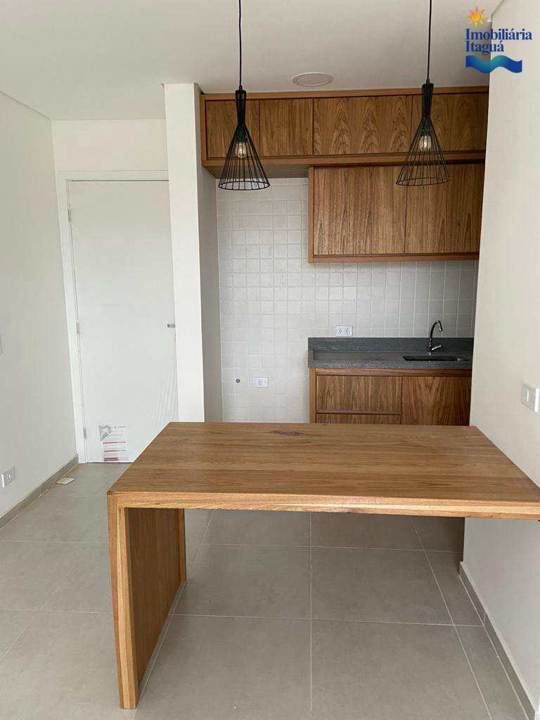 Apartamento novo com 1 dorm, Centro, Ubatuba