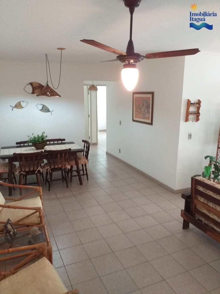 Apartamento com 3 dorms, Centro, Ubatuba - R$ 500 mil, Cod: ap1671