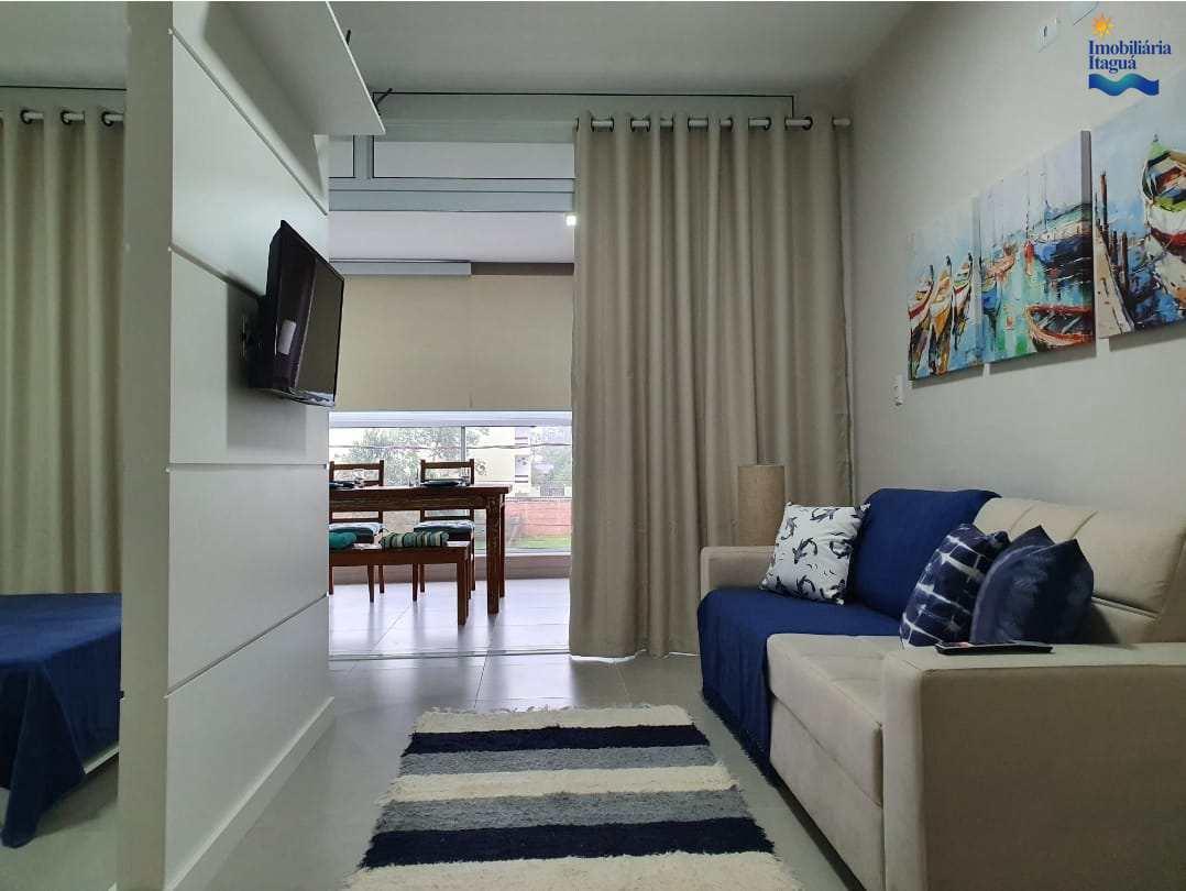 Apartamento com 1 dorm, Itagua, Ubatuba - R$ 350 mil, Cod: AP1681