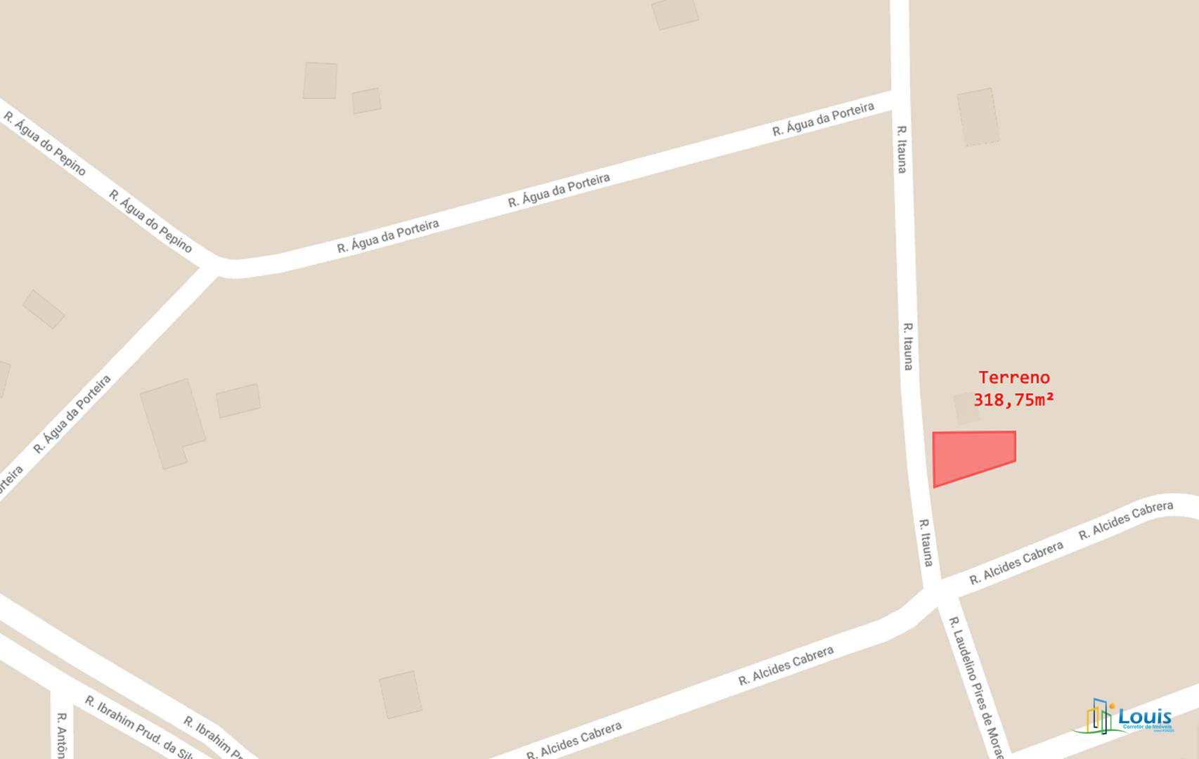 Terreno 318,75m², Recanto Alvorada (LT 08), Ibiporã/PR
