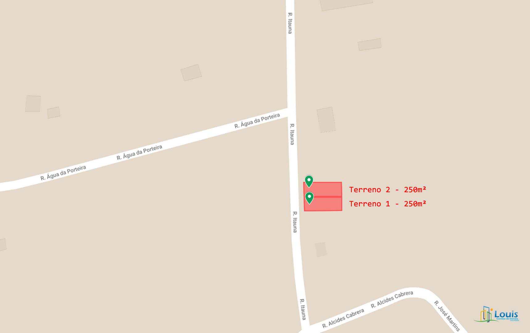 Terreno 250m² (LT 13), Recanto Alvorada, Ibiporã/PR