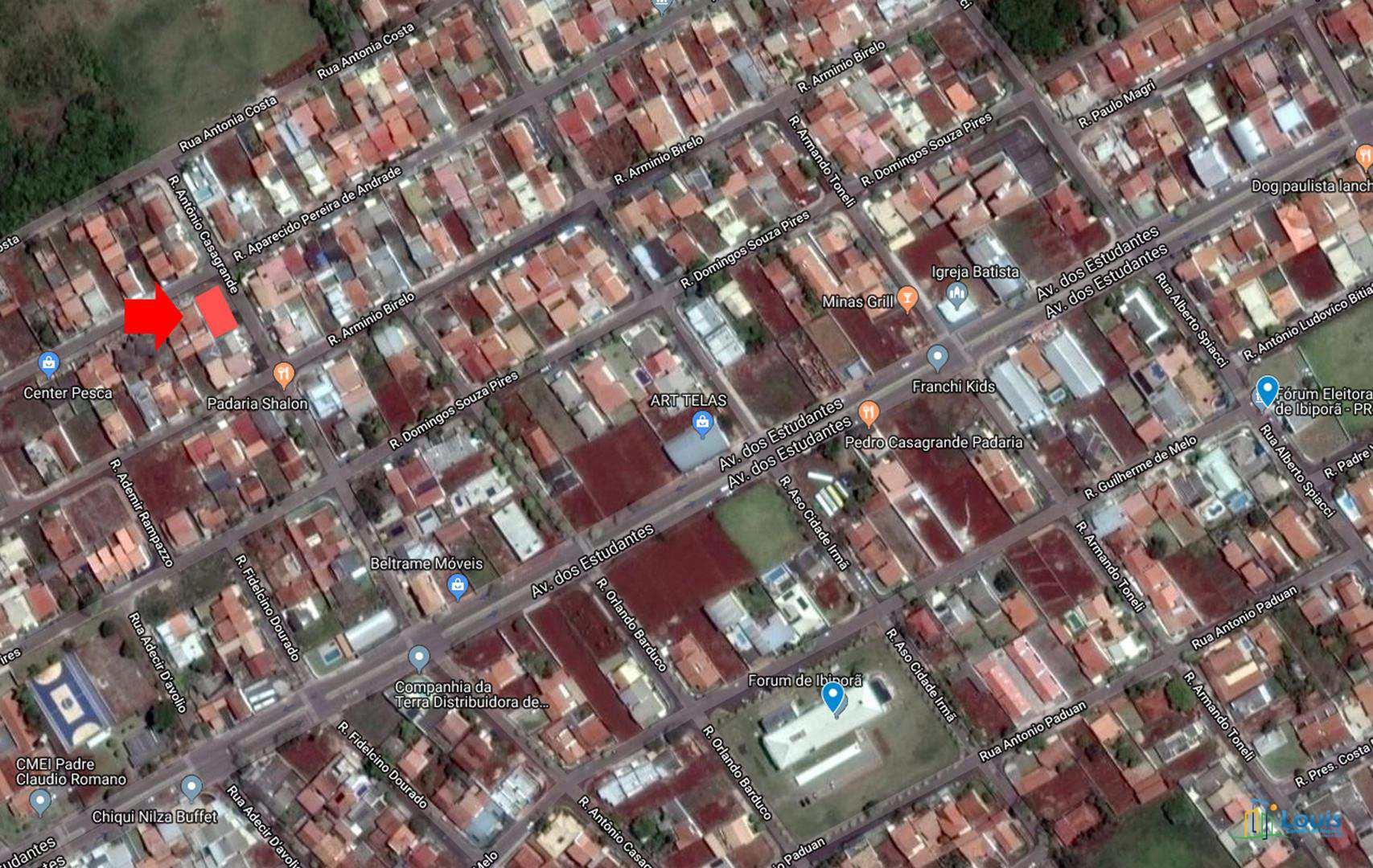 Terreno 350m² de Esquina, Vila Romana II, Ibiporã/PR