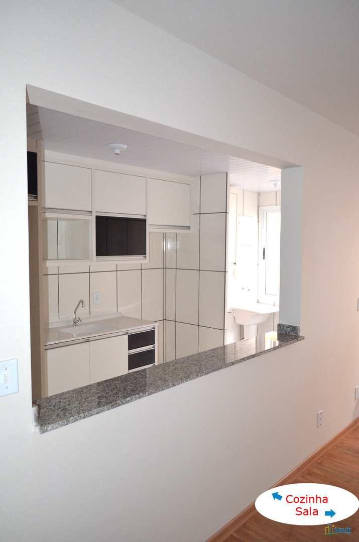 Apartamento em Londrina, Vivi Xavier, 62m², 3 Quartos, Térreo