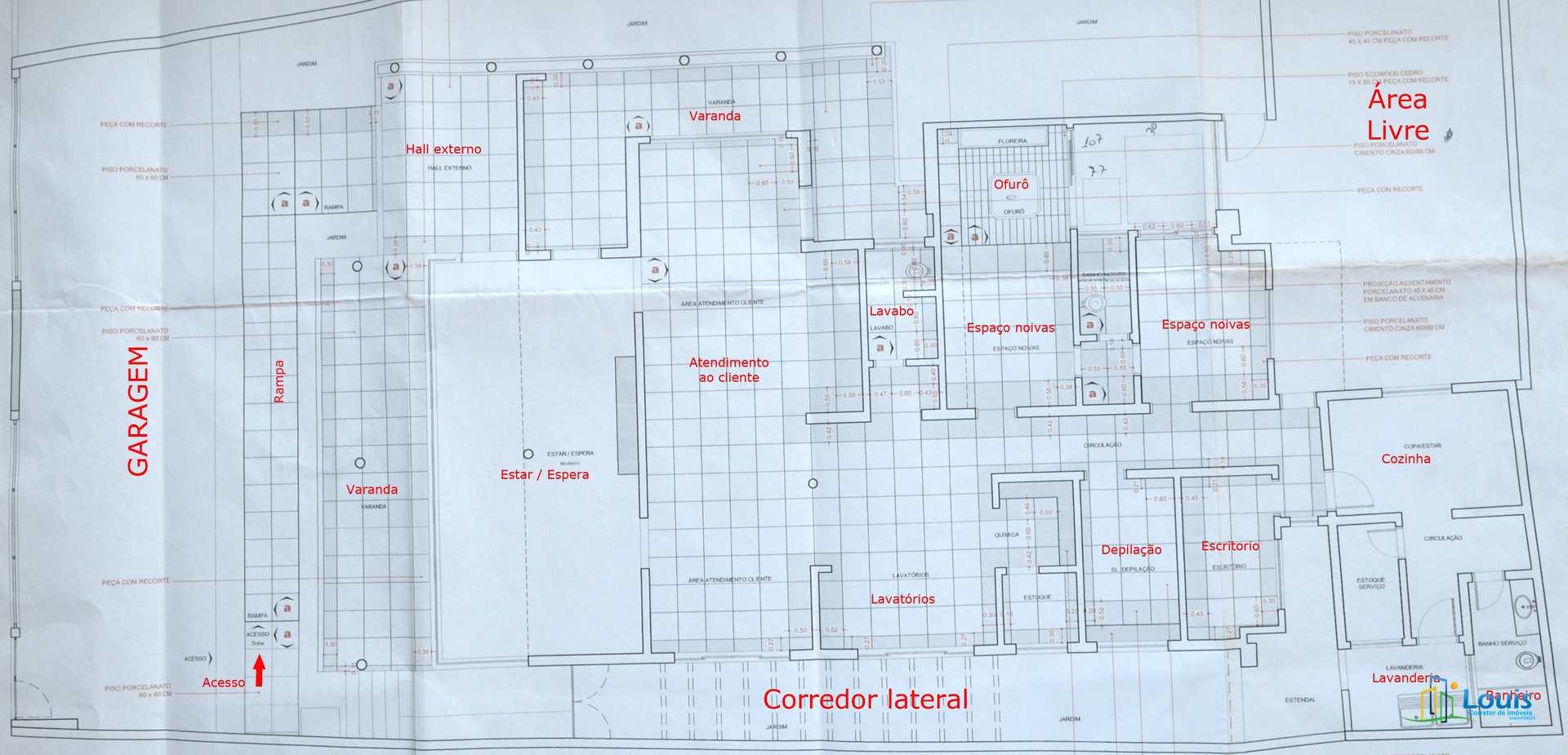 Salão Comercial em Londrina 350m², Jd Shangri-lá (Prox. MC Don)