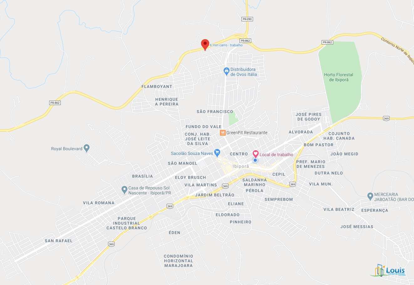 Terreno, Residencial Tucanos, Ibiporã - R$ 135 mil, Cod: 353
