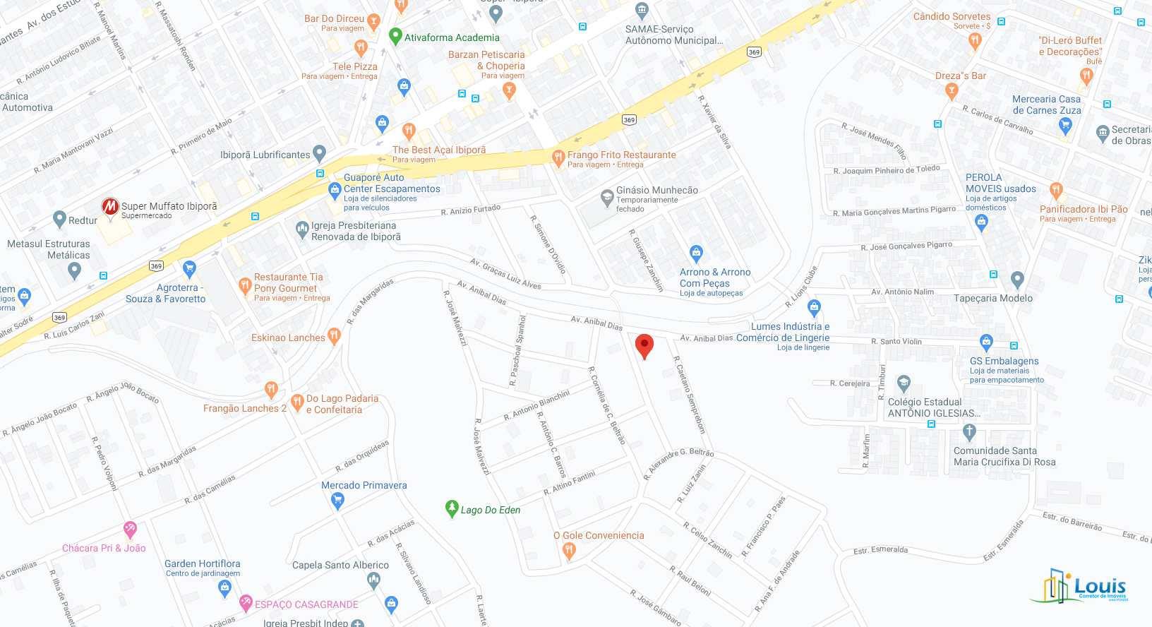 Terreno 250m², Jd. Beltrão - Ibiporã/PR