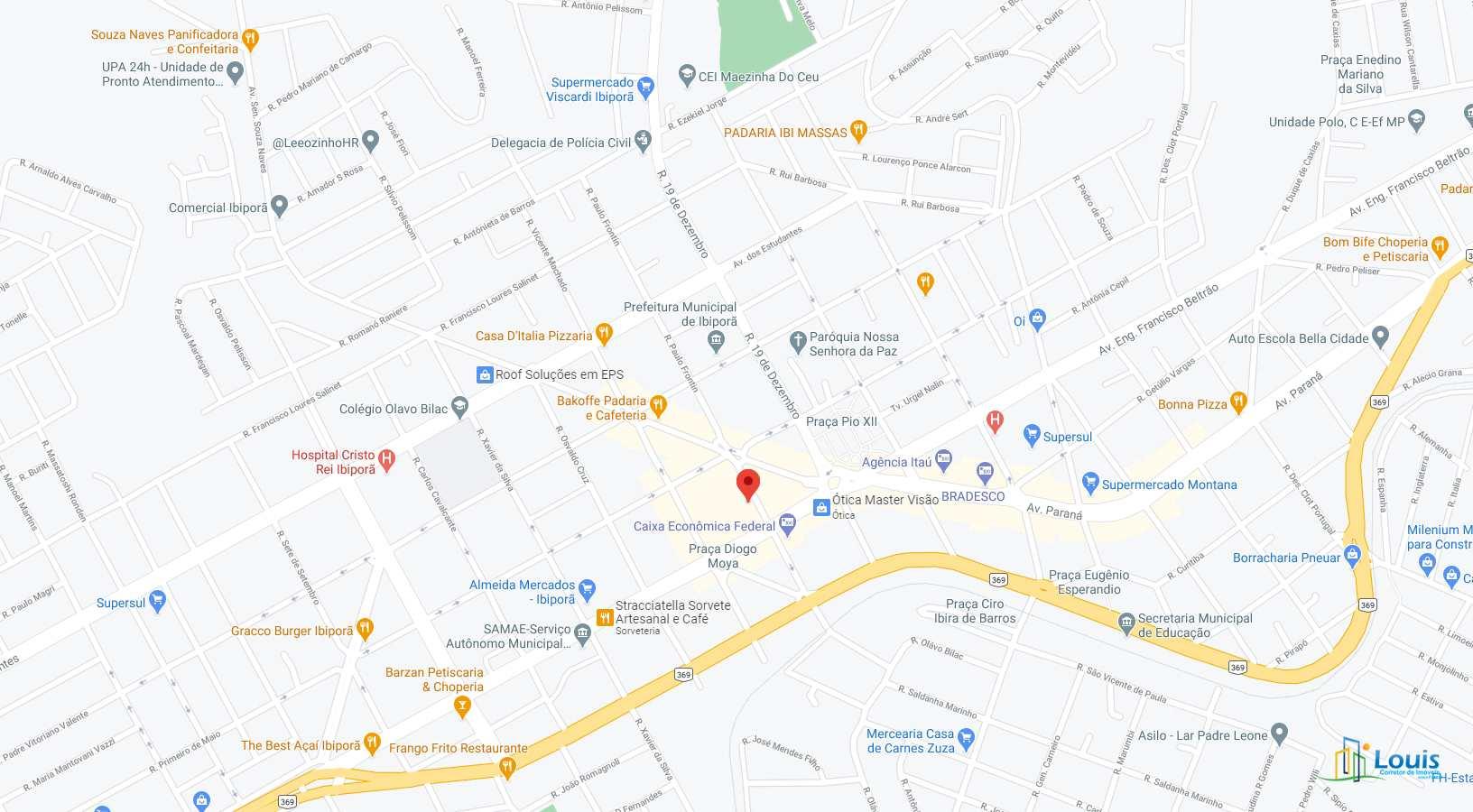 Apartamento com 2 dorms, Centro, Ibiporã - R$ 300 mil, Cod: 417