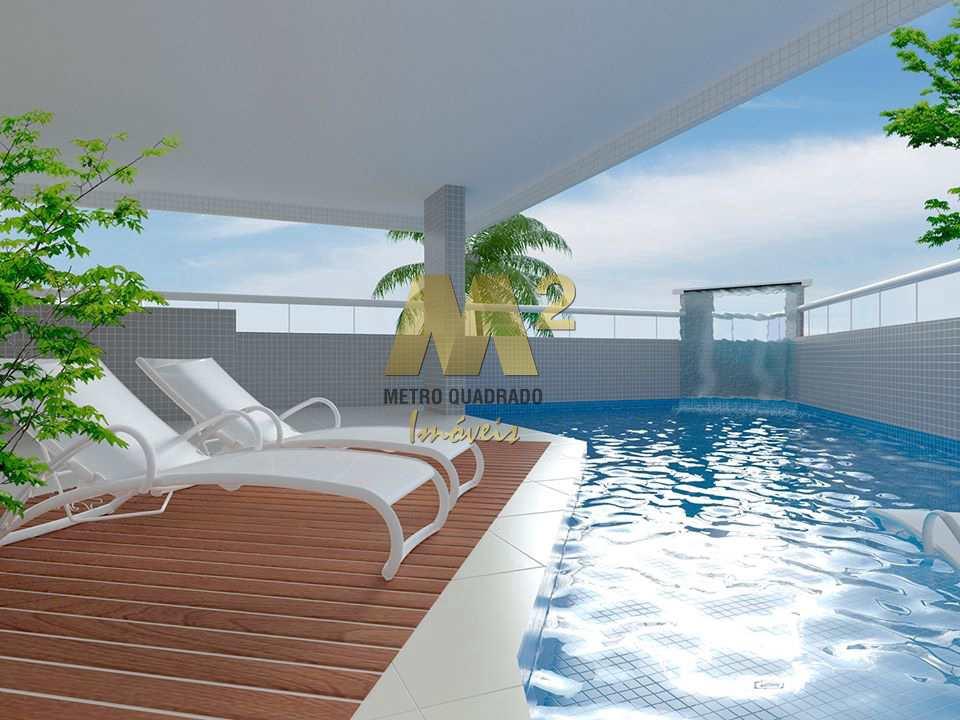 Apartamento de 1 dormitório à venda. Mirim, Praia Grande.