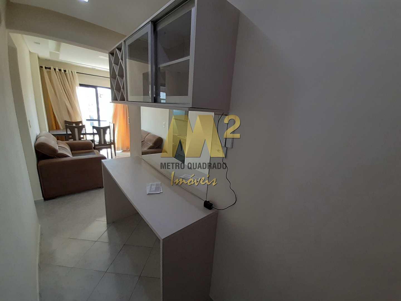 Apartamento com 1 dormitório, Ocian, Praia Grande.