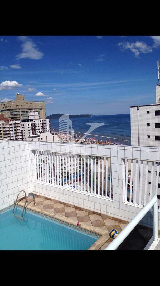 Cobertura com 3 dorms, Ocian, Praia Grande - R$ 850 mil, Cod: 4079