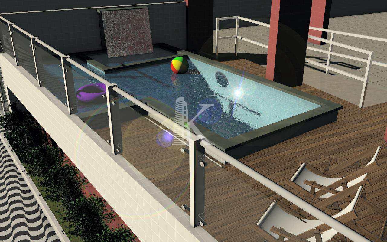 Apartamento com 2 dorms, Aviação, Praia Grande - R$ 199 mil, Cod: 4471