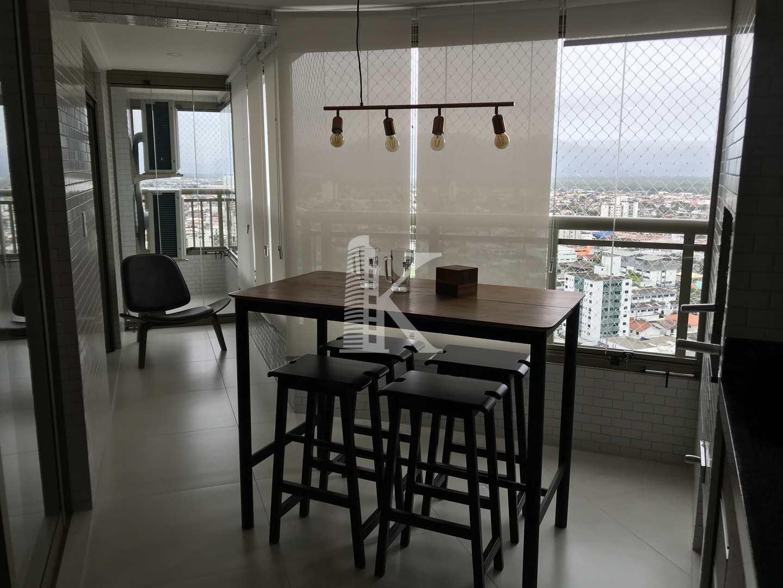 Apartamento com 3 dorms, Canto do Forte, Praia Grande - R$ 632 mil, Cod: 4614