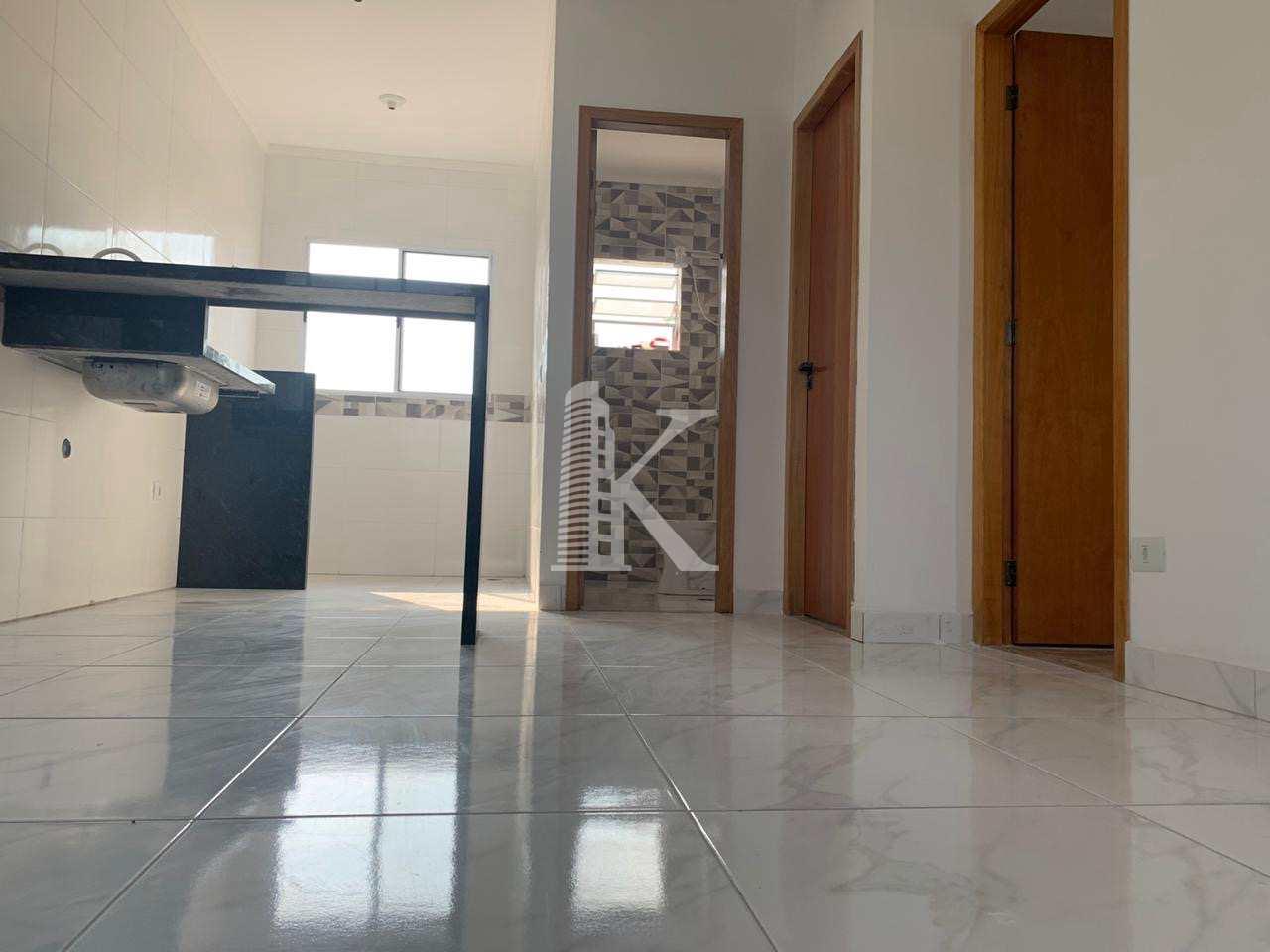 Casa de Condomínio com 3 dorms, Vila São Jorge, Praia Grande - R$ 210 mil, Cod: 4948