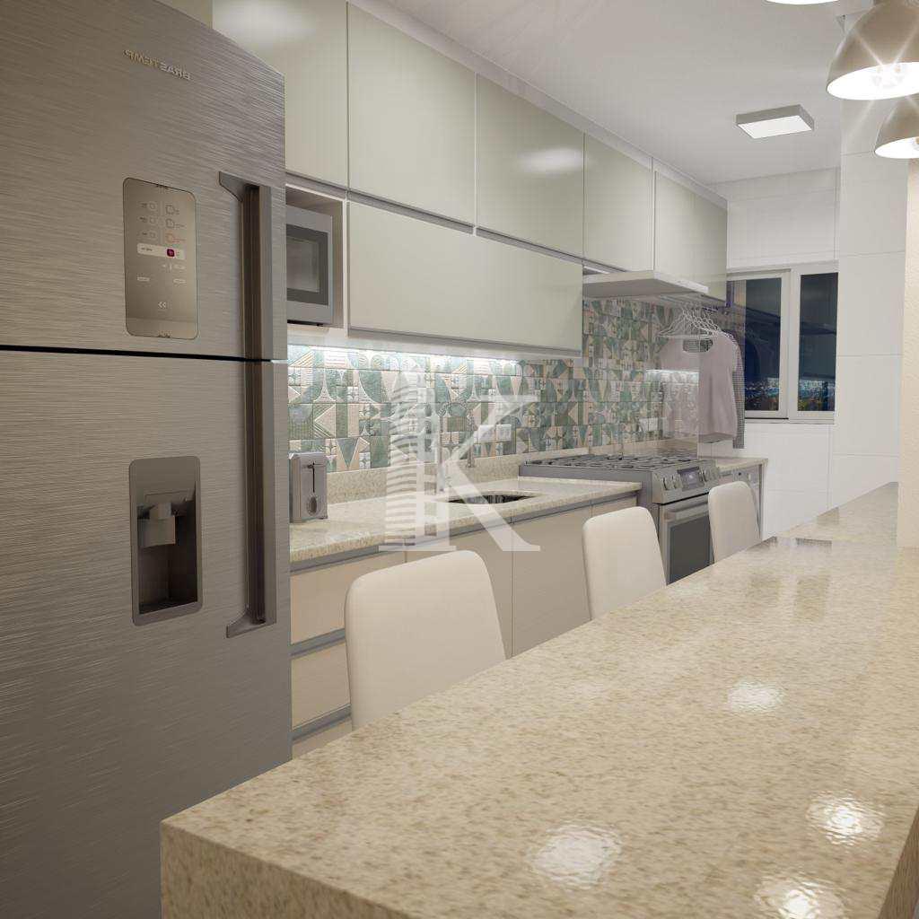 Apartamento com 2 dorms, Guilhermina, Praia Grande - R$ 300 mil, Cod: 5049
