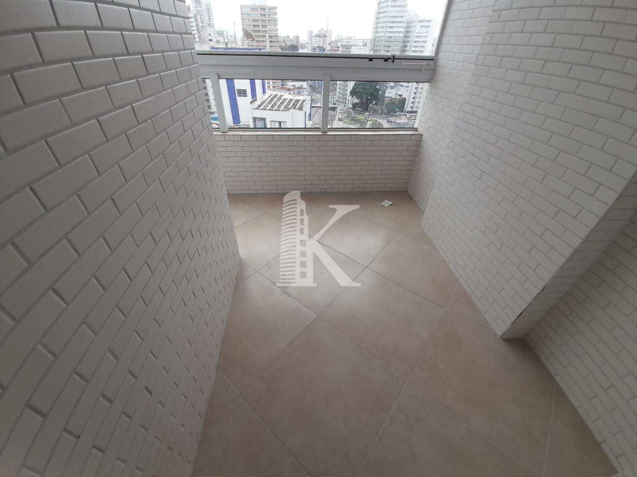 Apartamento com 2 dorms, Boqueirão, Praia Grande - R$ 460 mil, Cod: 5252