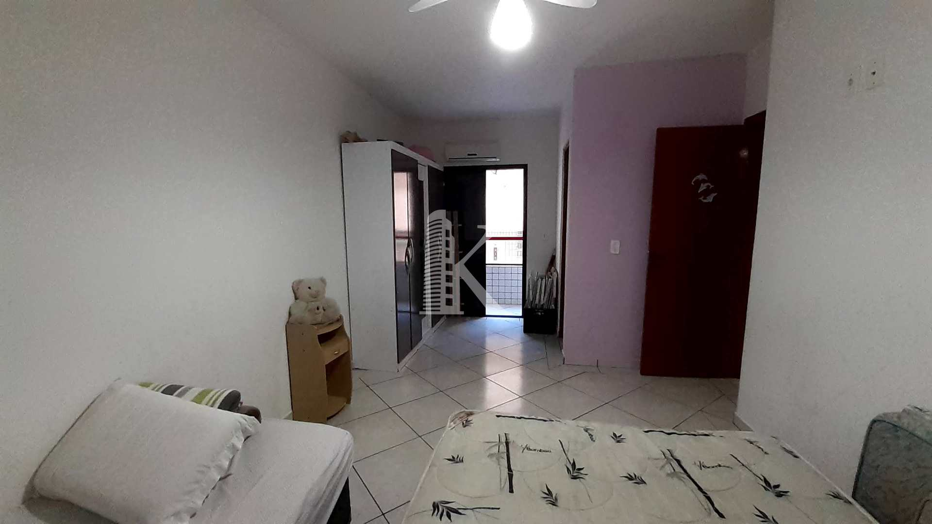 Apartamento com 1 dorm, Boqueirão, Praia Grande - R$ 220 mil, Cod: 5460