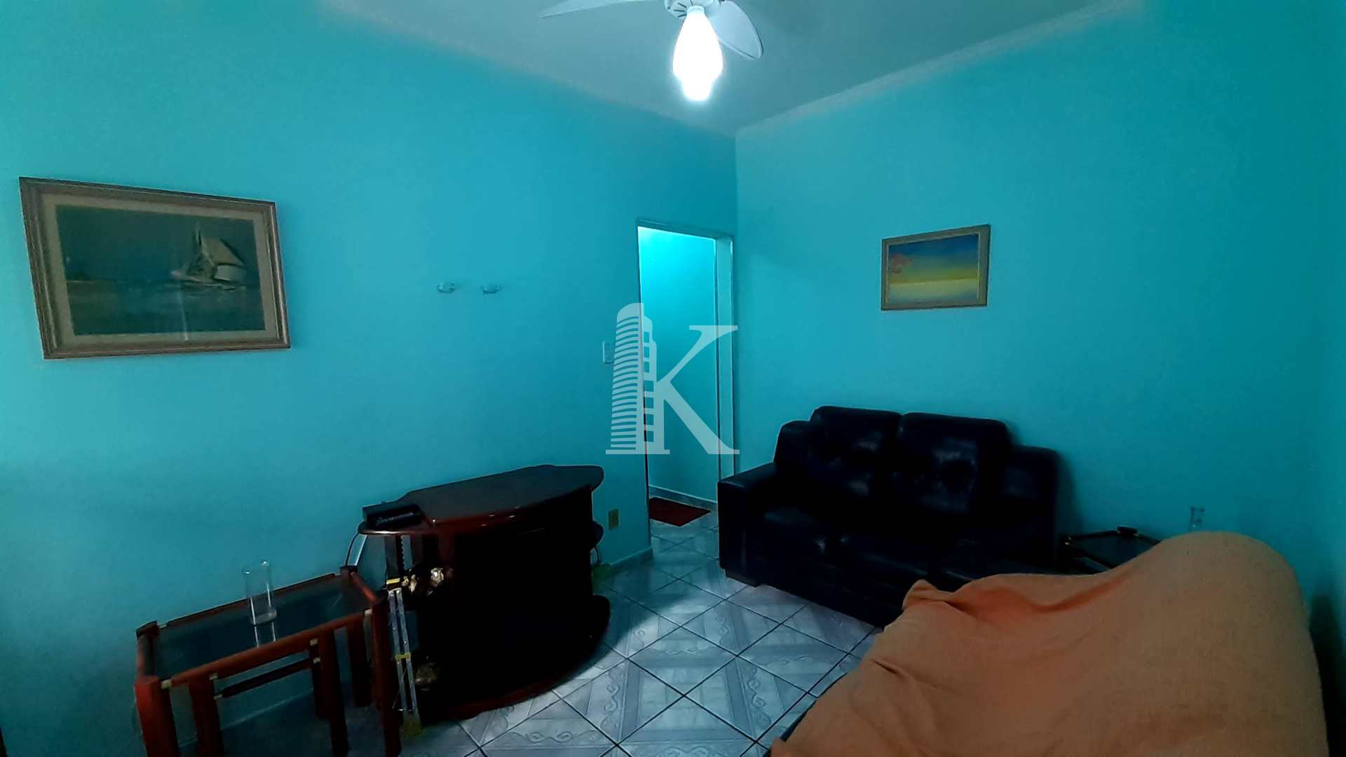 Apartamento com 2 dorms, Guilhermina, Praia Grande - R$ 210 mil, Cod: 5876