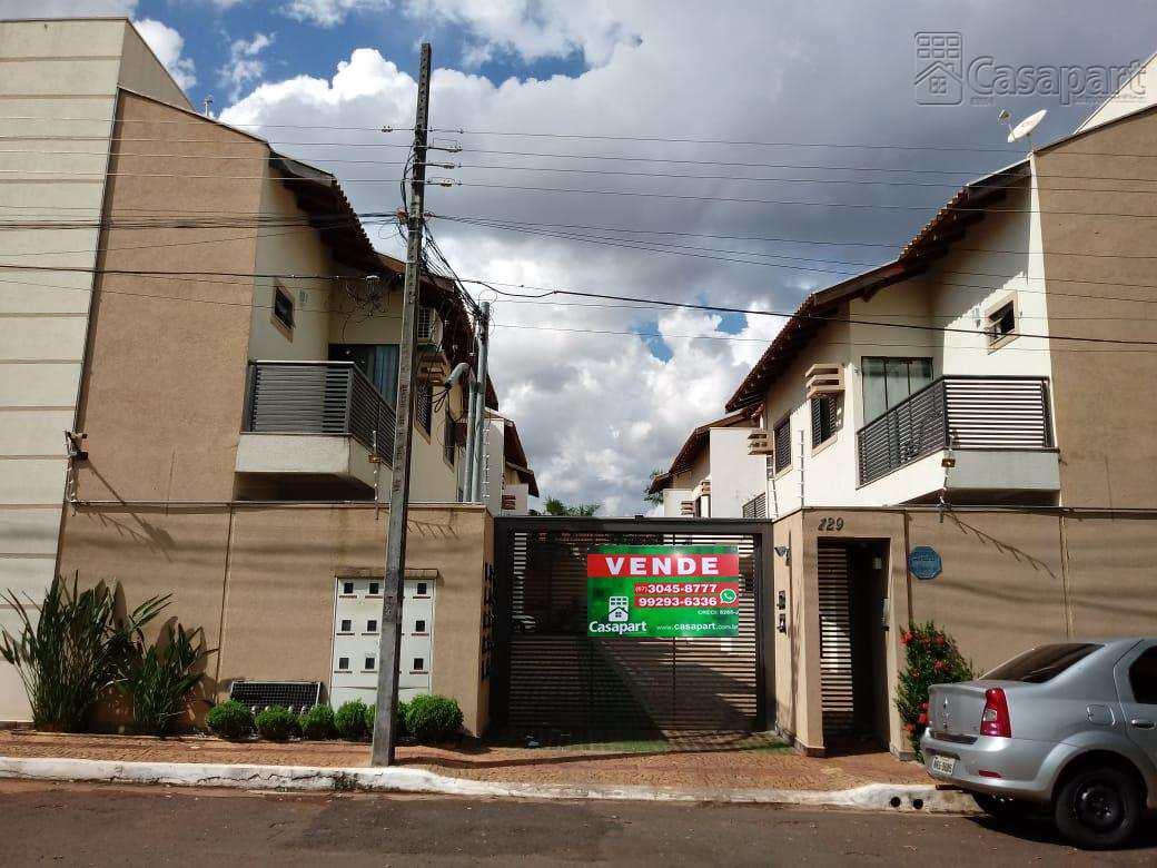 Sobrado em condomínio c/ 3 quartos  - Campo Grande