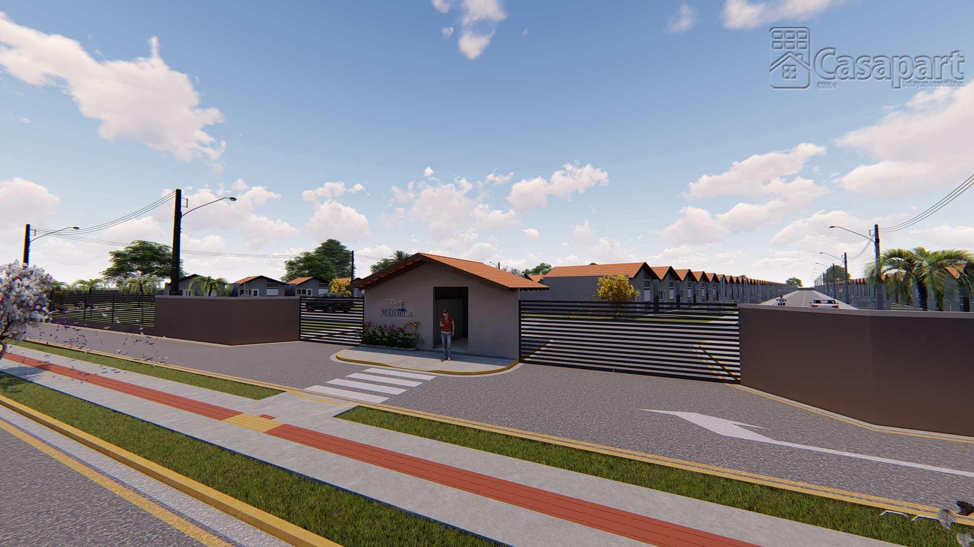 Casas com 2 quartos, Vila Nasser, Campo Grande MS
