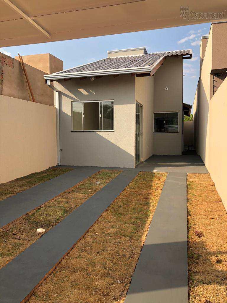Casa com 2 dorms, Vila Nasser, Campo Grande - MS.