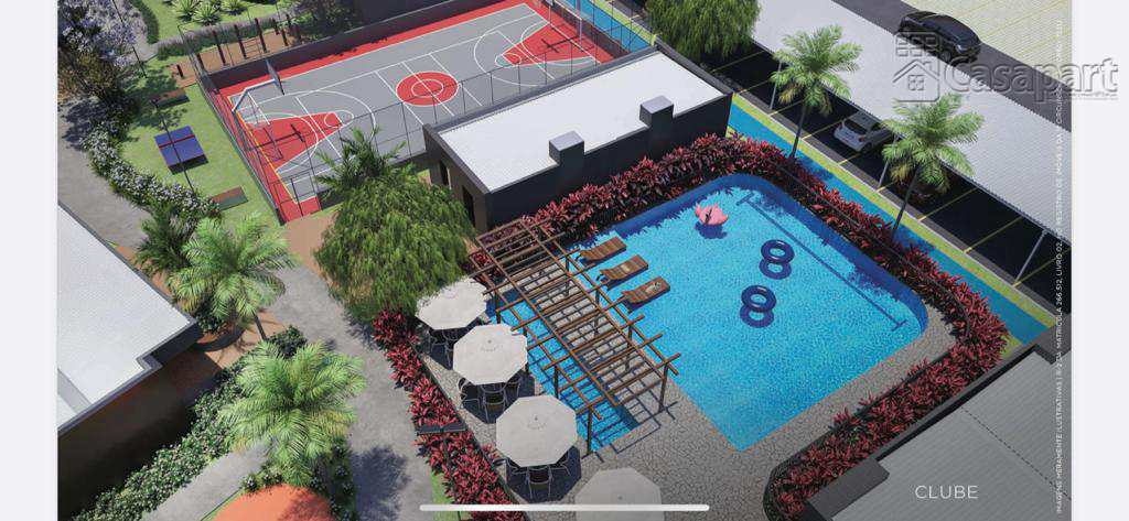 Apto. com 2 quartos, Vivendas do Parque, C. Grande