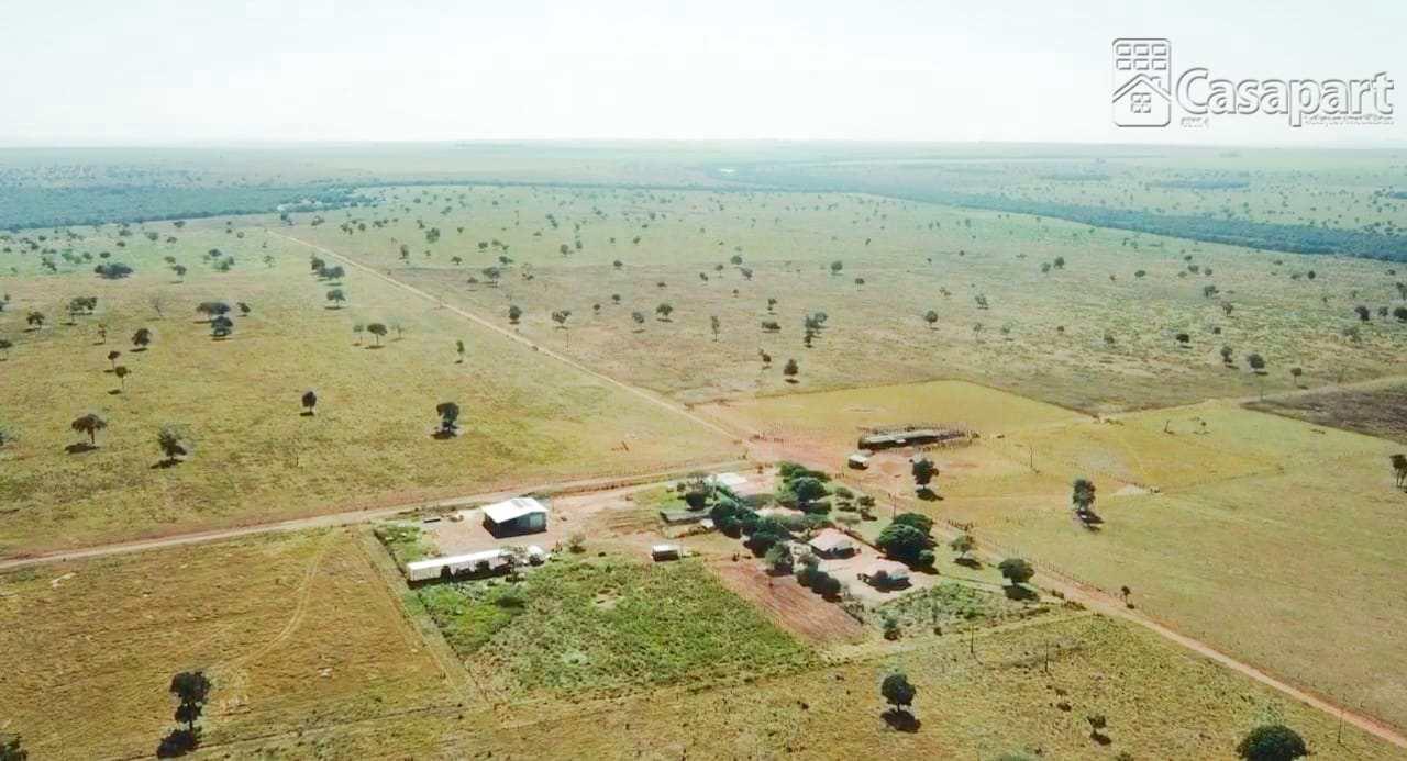 Fazenda excelente a venda c/ 3.004ha em Coxim - MS
