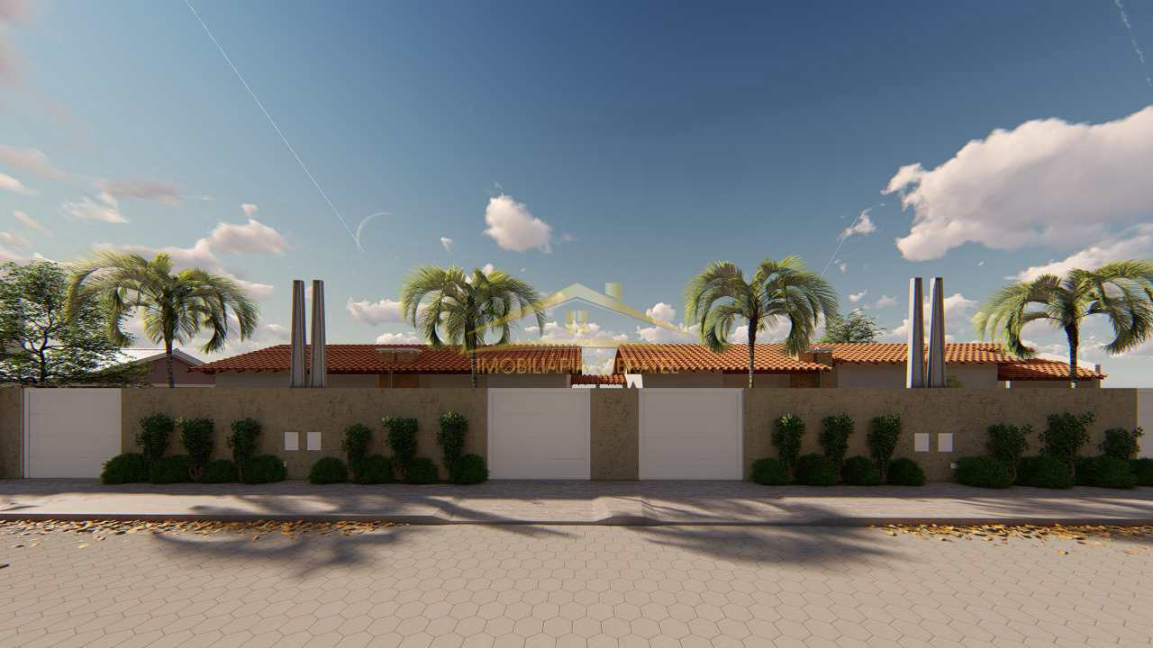 Casa com 2 dorms, Cibratel II, Itanhaém - R$ 220 mil, Cod: 1342