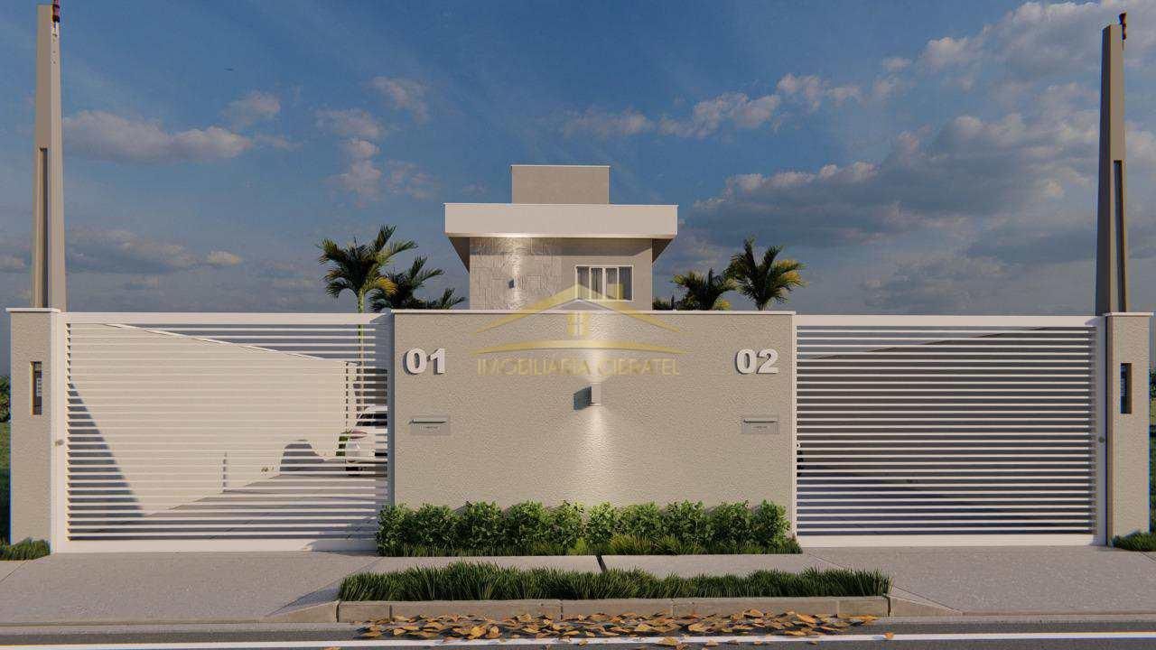 Casa com 3 dorms, Cibratel II, Itanhaém - R$ 300 mil, Cod: 1354
