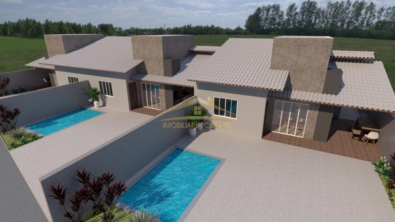 Casa com 2 dorms, Jardim São Fernando, Itanhaém - R$ 285 mil, Cod: 1425
