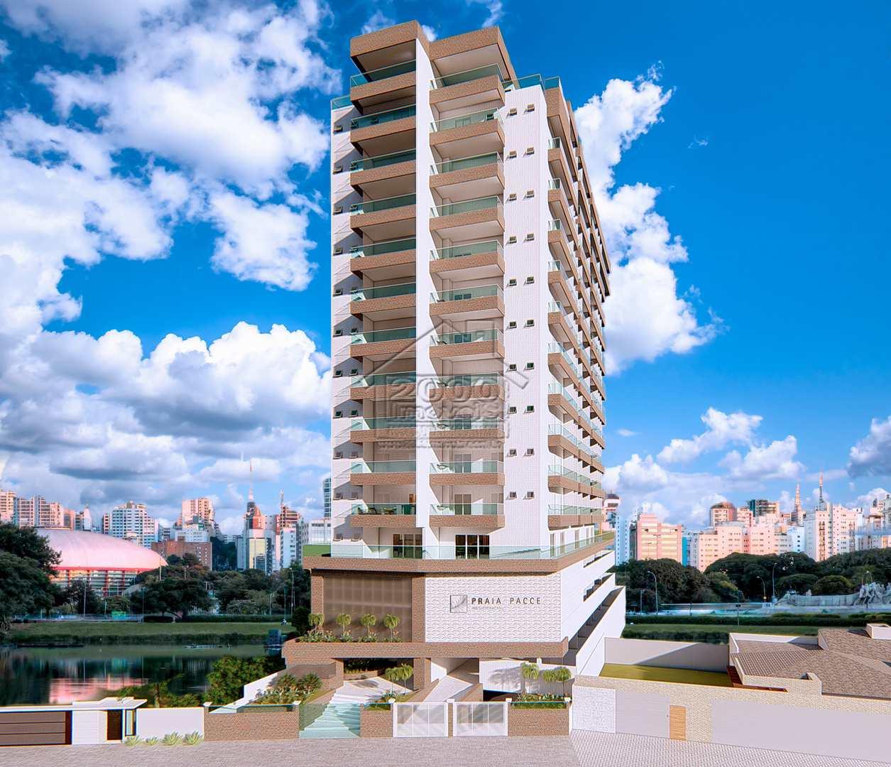 Apartamento com 2 dorms, Caiçara, Praia Grande - R$ 438 mil, Cod: 2118