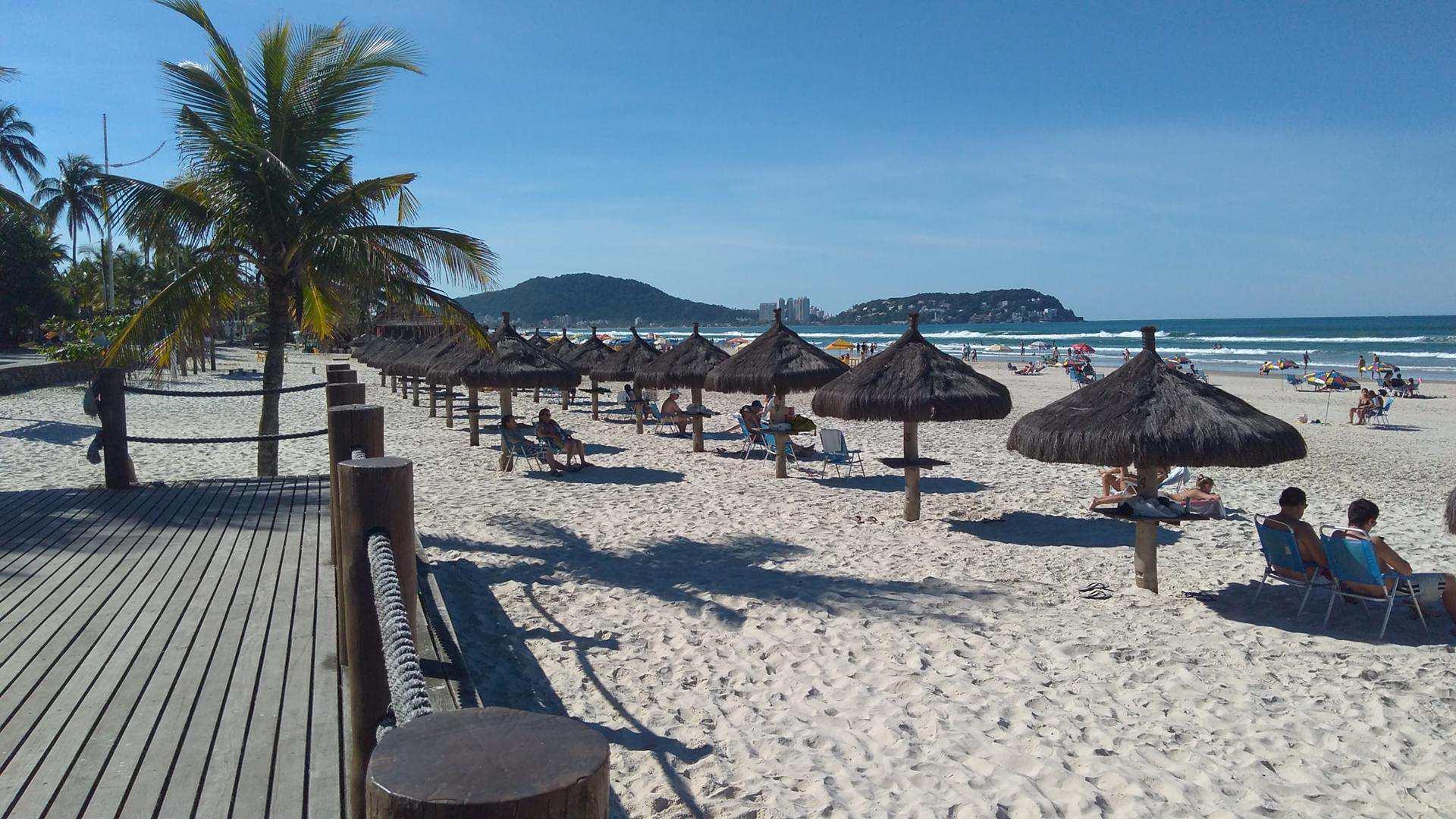 Infraestrutura da Praia