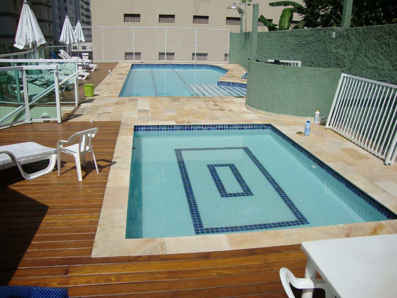 Apartamento com 3 dorms, Pitangueiras, Guarujá - R$ 600 mil, Cod: 4629