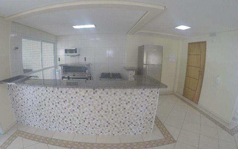 Apartamento com 2 dorms, Aviação, Praia Grande - R$ 398 mil, Cod: 4197