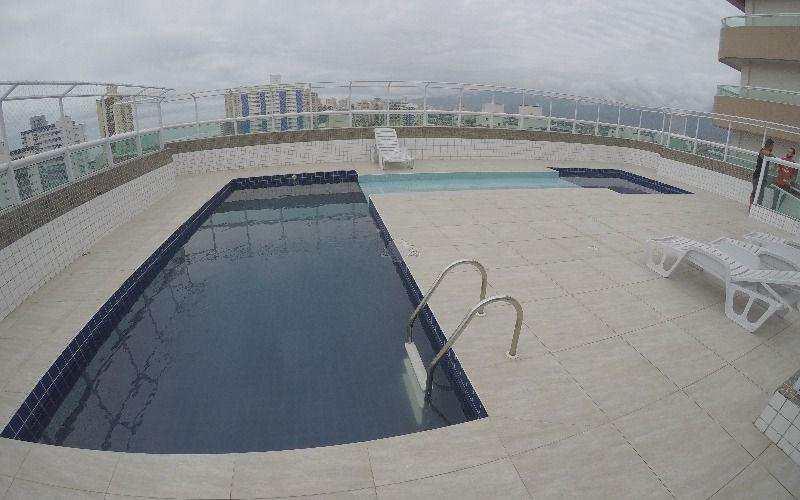 Apartamento com 2 dorms, Guilhermina, Praia Grande - R$ 405 mil, Cod: 4007