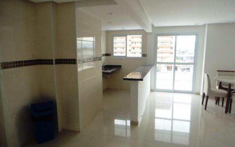 Lindo Apartamento no bairro Tupi em Praia Grande com 2 Dormitórios sendo 1 suíte