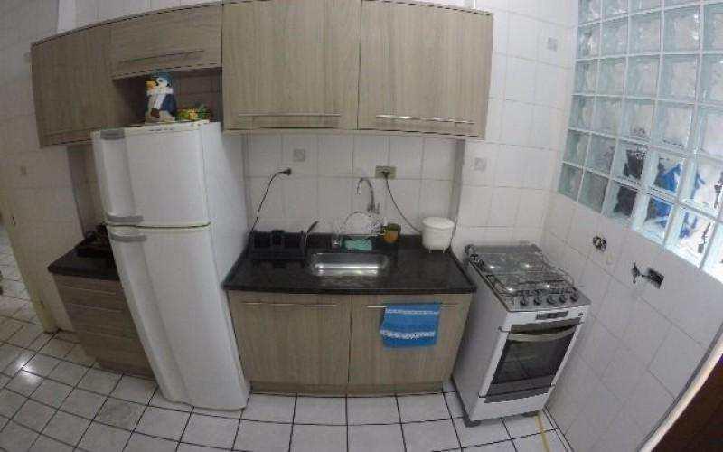 Apartamento com 1 dorm, Tupi, Praia Grande - R$ 190 mil, Cod: 3470