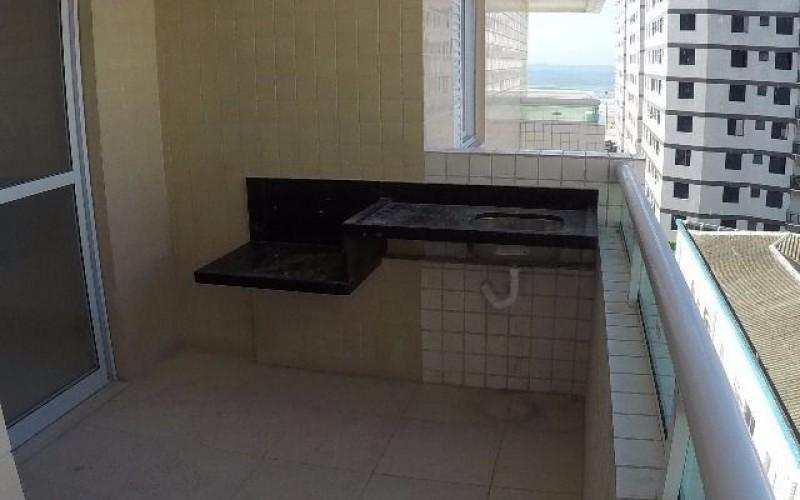 Apartamentos dois dormitórios com vista mar em Praia Grande