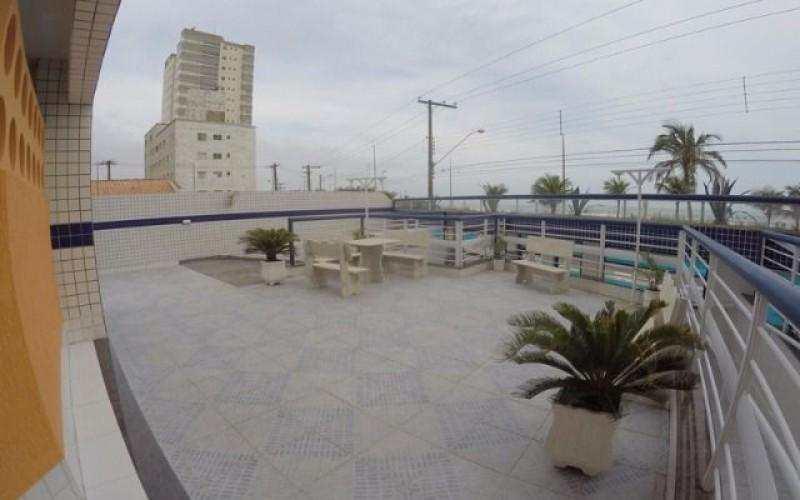 Apartamento á venda FRENTE para o mar em Praia Grande